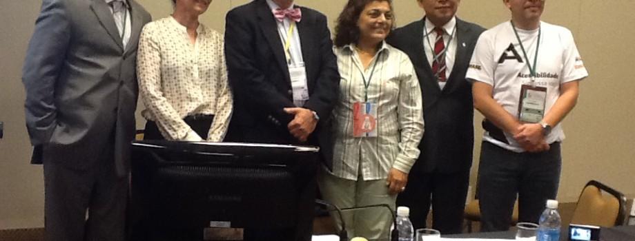 Membros da AMPID III Conf daPessoa c Deficiência Brasília de 3 a 6 deDezembro 2012