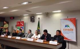 Dr. Waldir Macieira Filho participa da Sessão no Senado Federal para a discussão sobre as políticas para as pessoas com deficiência.