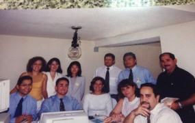 Dr. Waldir Macieira Filho, Dr. Paulo Barbosa, Dr. Luiz Roberto Salles, Dra. Delisa Vieralves (1999)